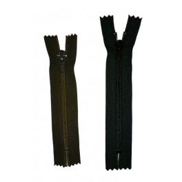 Fermeture éclair en nylon - 15cm à 25cm