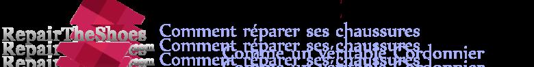 Repair The Shoes